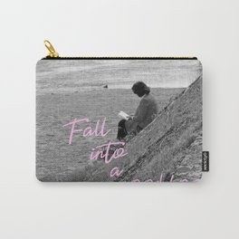 Fall Into A Good Book Carry-All Pouch