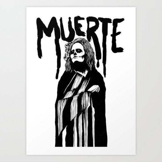 Muerte Art Print