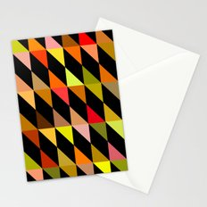 Autumn Triangles Stationery Cards