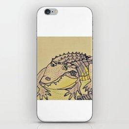 Grumpy Gator iPhone Skin