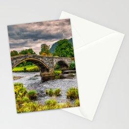 Llanrwst Bridge Autumn Stationery Cards