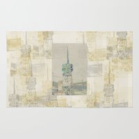 tennessee Area & Throw Rugs featuring Tennessee country store sign by Sandy Moulder