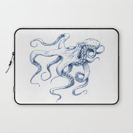 Blue Octopus Laptop Sleeve