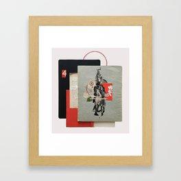 High Velocity Framed Art Print