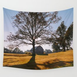 Kentucky Barn Wall Tapestry