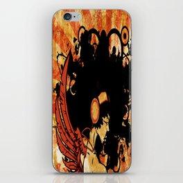 Rebel Lady iPhone Skin