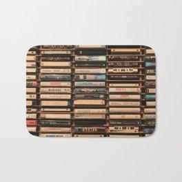 Vintage Cassettes (Color) Bath Mat