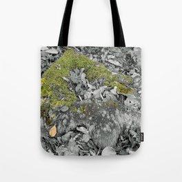 Mossy Stump Tote Bag