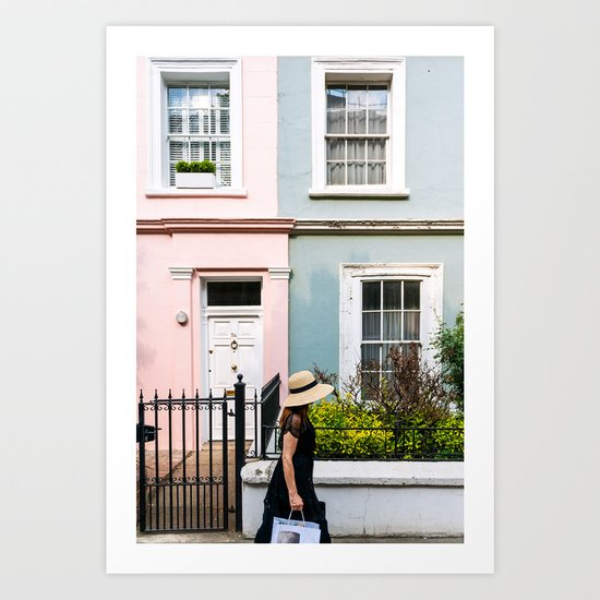 London - Notting Hill Art Print