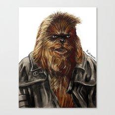 Wulchok the Wookiee Bounty Hunter Canvas Print