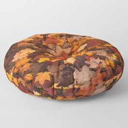 Fall Foliage Floor Pillow