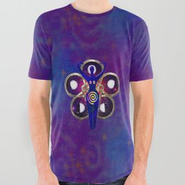 Cycles 3D Egyptian Goddess All Over Graphic Tee