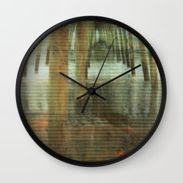 Kure Beach North Carolina Fishing Pier Wall Clock