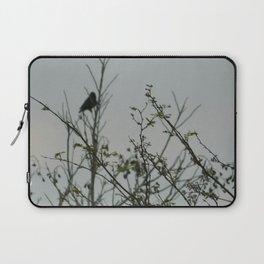 Bird in the Brush Laptop Sleeve