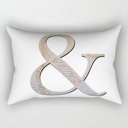 French Ampersand Rectangular Pillow