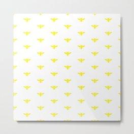 BUMBLEBEE ((sunshine yellow)) Metal Print