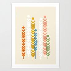 Barley Art Print