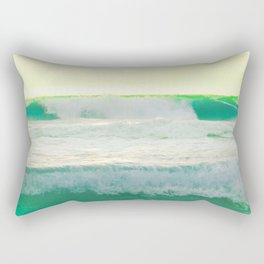 Turquoise Ocean Rectangular Pillow