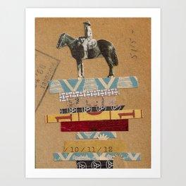 Higher Ground- Sam Art Print