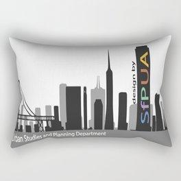 SfPUA B&W color logo Rectangular Pillow