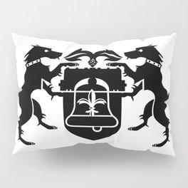 coat of arms - black Pillow Sham