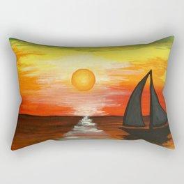 Tequila Sunset Rectangular Pillow