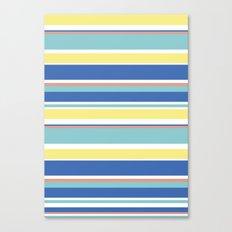 The Summer Stripes Canvas Print