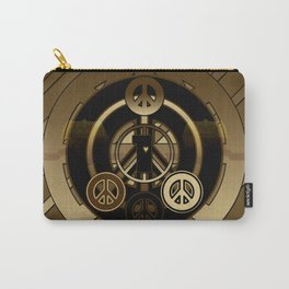 One Love (Brown) Carry-All Pouch