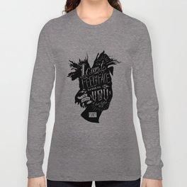 Can't Feel My Face 18x24 Print Long Sleeve T-shirt