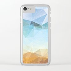Between Earth and Sky Clear iPhone Case