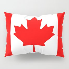 Flag of Canada - Authentic High Quality image Pillow Sham