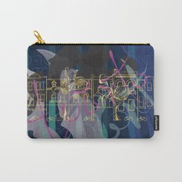 Queen St Toronto Culture Carry-All Pouch
