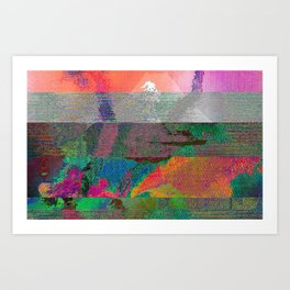 Kids See Ghosts Art Print