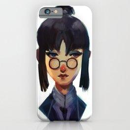 Zhu Li Portrait iPhone Case
