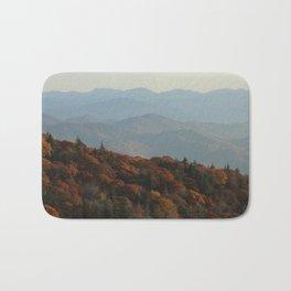 Blue Ridge Mountains Bath Mat