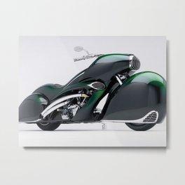 1930 Henderson Streamline Motorcycle Metal Print