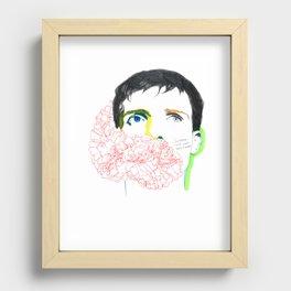 ian curtis Recessed Framed Print