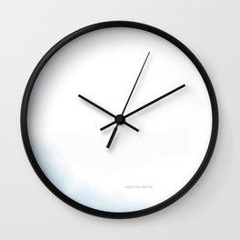 enjoy the silence. Wall Clock