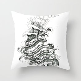 Chelsea Smile Throw Pillow