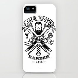 Jack Knife iPhone Case