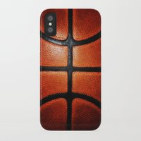basketball iPhone & iPod Cases featuring Basketball by alifart