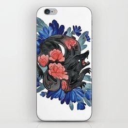 Lotus Wolf iPhone Skin