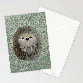 Cute Baby Hedgehog Stationery Cards