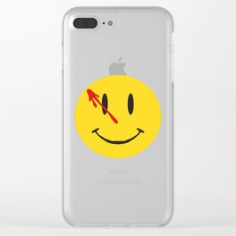 Watchmen Clear iPhone Case