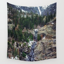 Mountain Pano Wall Tapestry