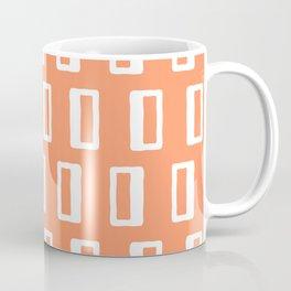 Chad Pattern Orange 22 Coffee Mug