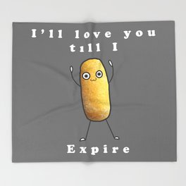 Twinkie Love Throw Blanket