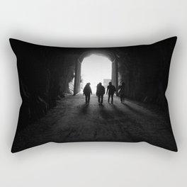 The Tunnels Rectangular Pillow