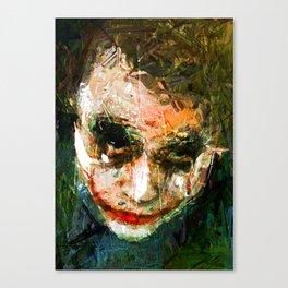JOKER ART Canvas Print