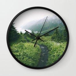 Happy Trails XIX Wall Clock